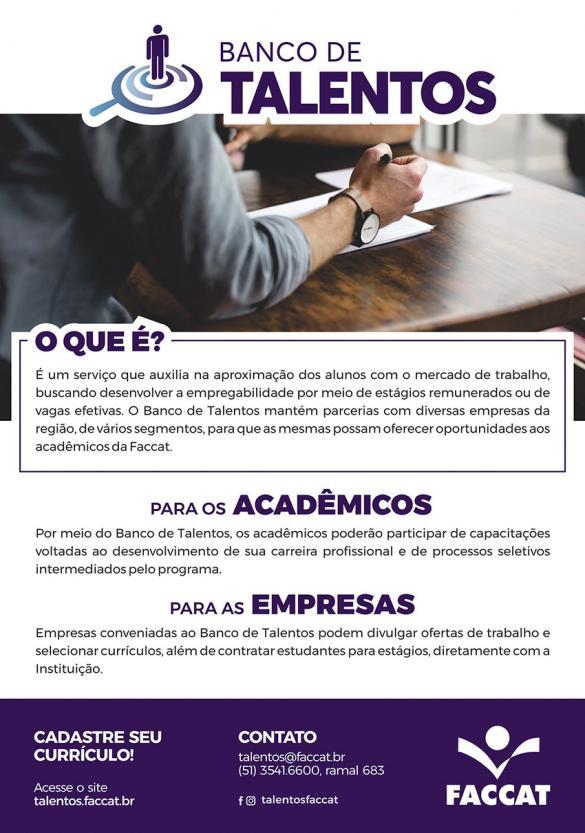 Banco de Talentos Faccat